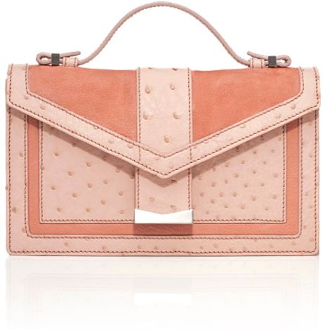 J. Mendel Ss Sandshell Petit Croisiere Small Shoulder Bag in Pink (sandshell)