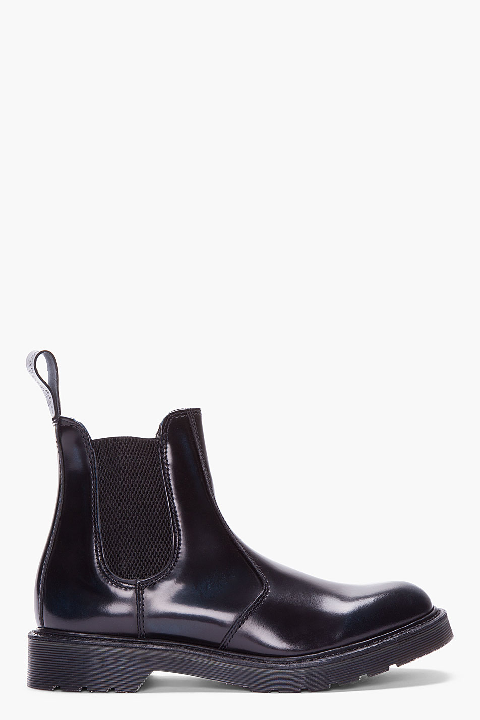 abb560c91e6 Dr. Martens Black Patent Leather Chelsea Boots for men