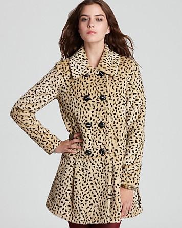 855a993cf602 Free People Leopard Swing Coat - Lyst