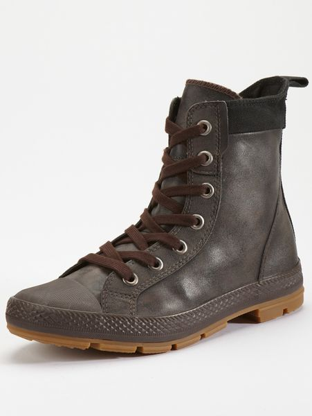 converse sargent mens boots in brown for deep taupe
