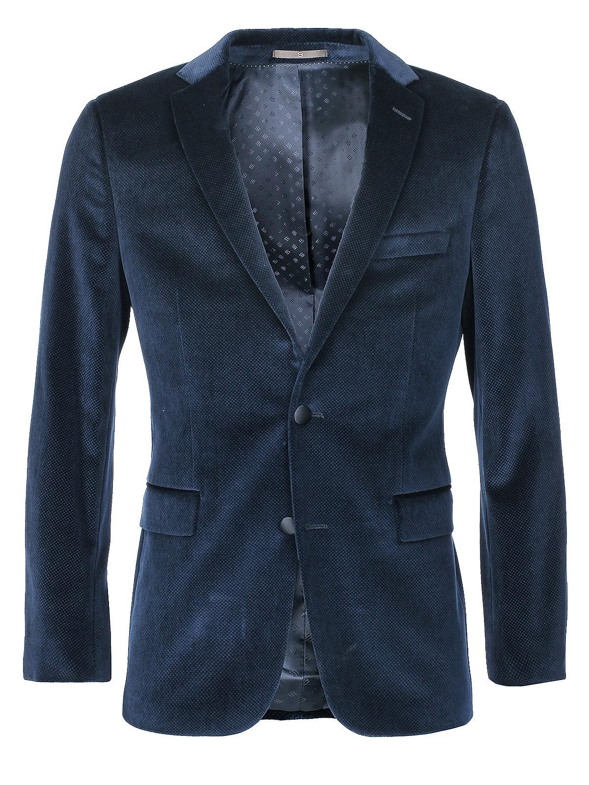 hugo boss hugo boss jacket in blue for men lyst. Black Bedroom Furniture Sets. Home Design Ideas