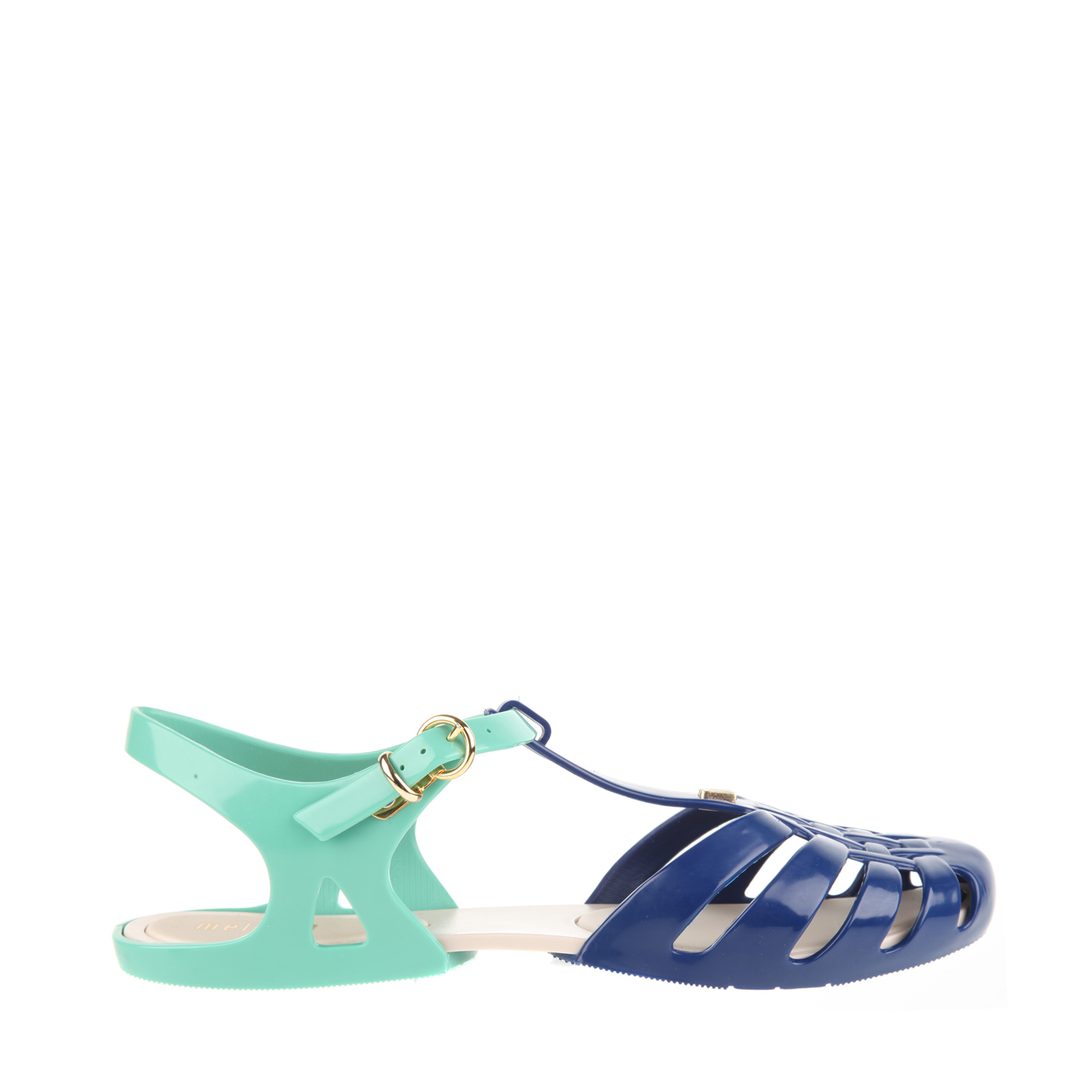 Melissa Rubber Sandals with Strap and Adjustable Buckle in ...