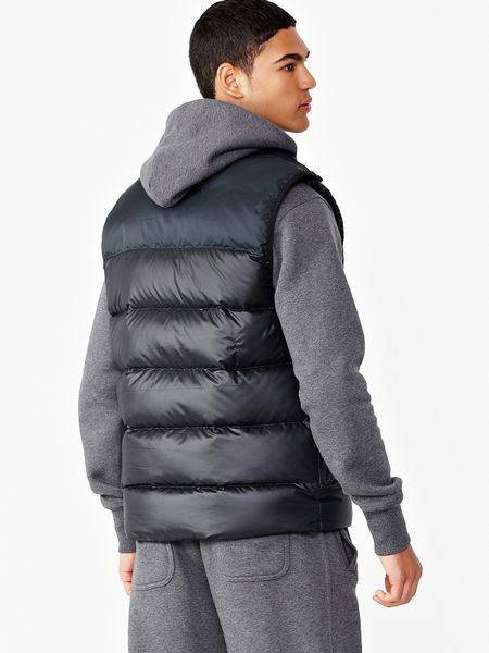 Nike Nike Mens Padded Gilet In Black For Men Lyst