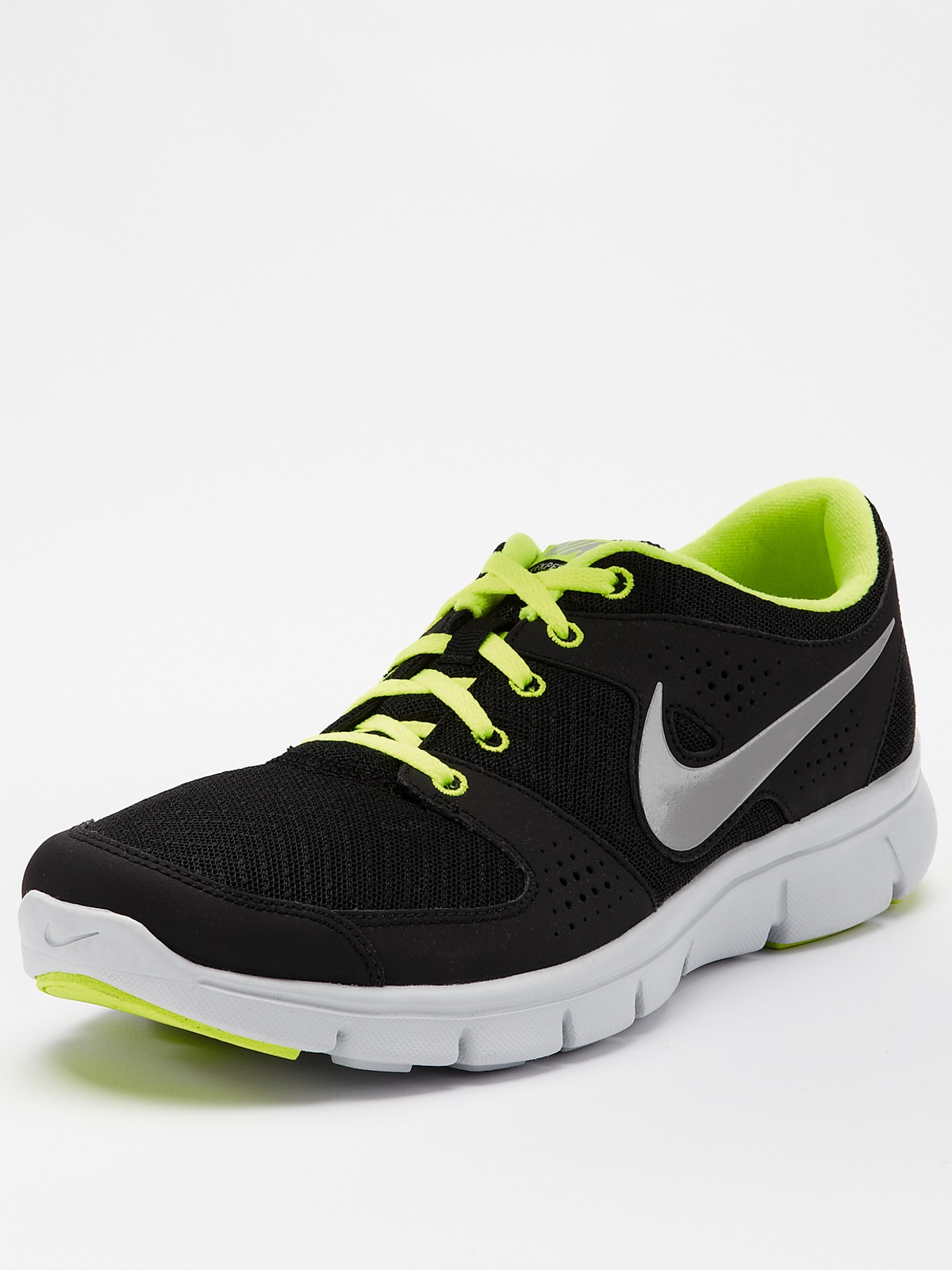 nike nike flex experience run mens running shoes in green