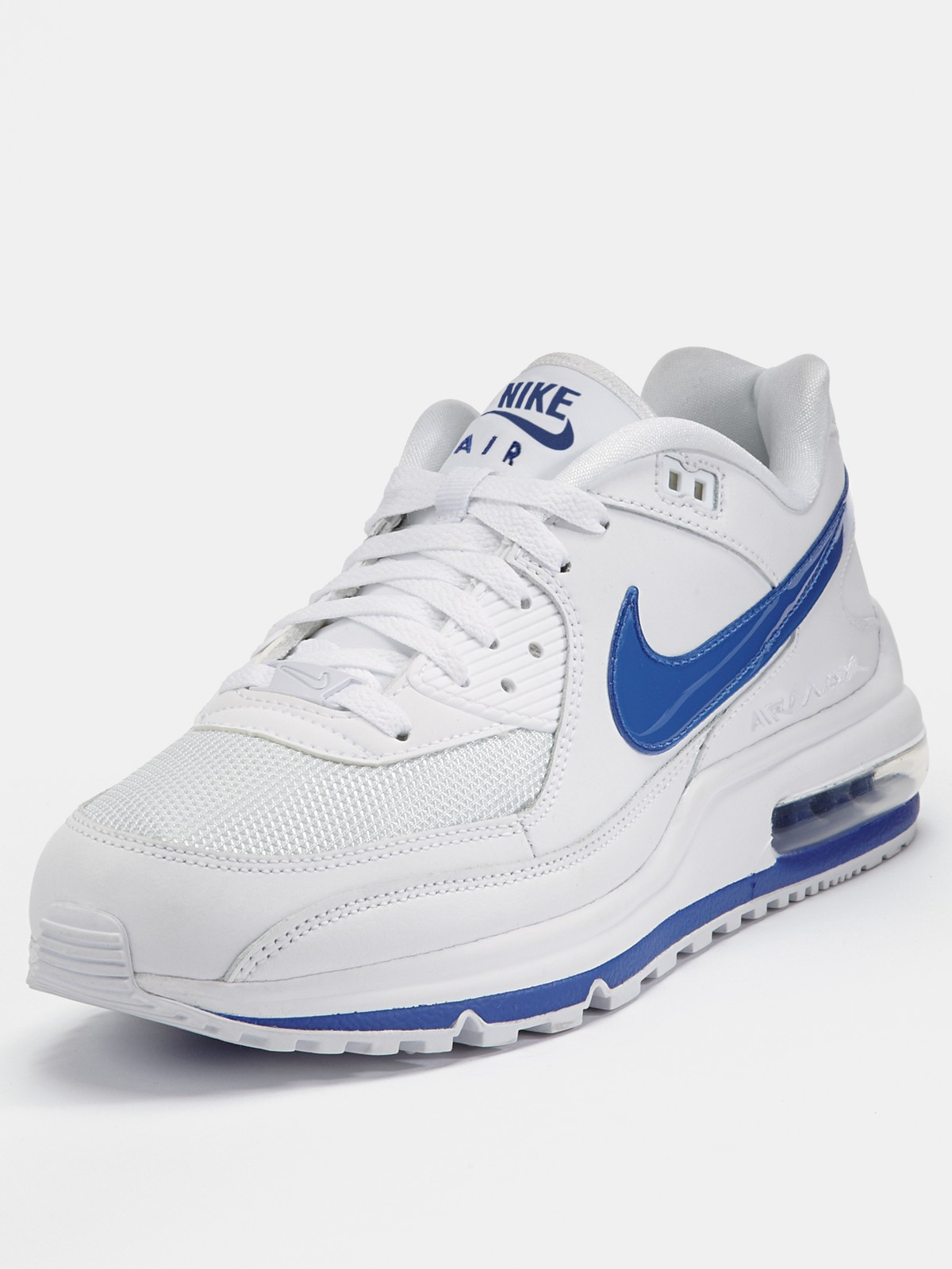 nike nike air max ltd ii mens trainers in white for men. Black Bedroom Furniture Sets. Home Design Ideas