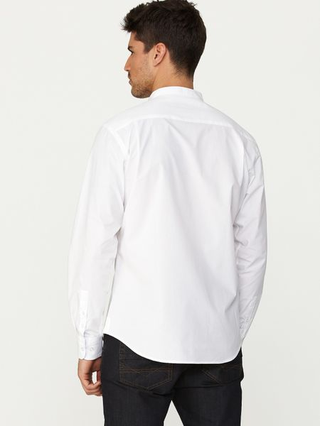 Mens Grandad Shirts Striking the balance between smart and casual, a grandad shirt will be a versatile addition to your fall/winter wardrobe. Layer over a T-shirt for laidback look or team with chinos when they day calls for something a little smarter.