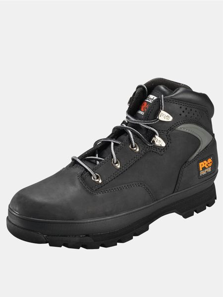 Timberland Eurohiker 2g Mens Safety Boots In Black For Men ...