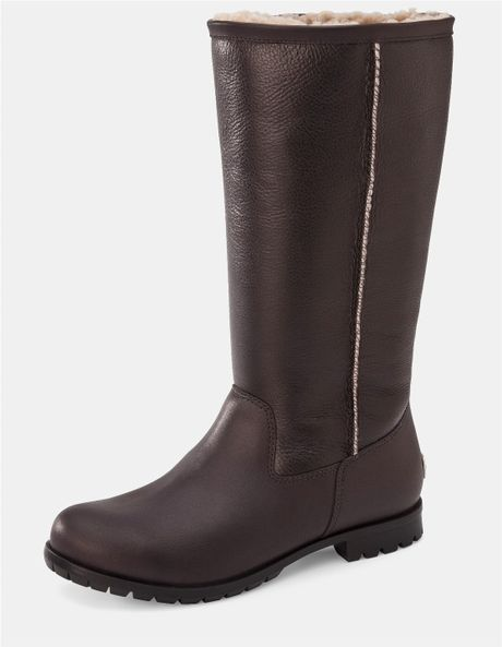 brown tall ugg boots