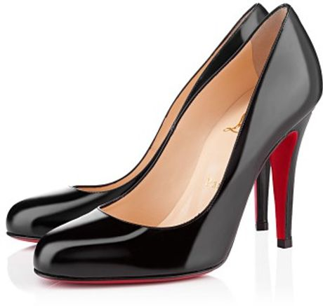 Christian Louboutin Ron Ron Patent in Black