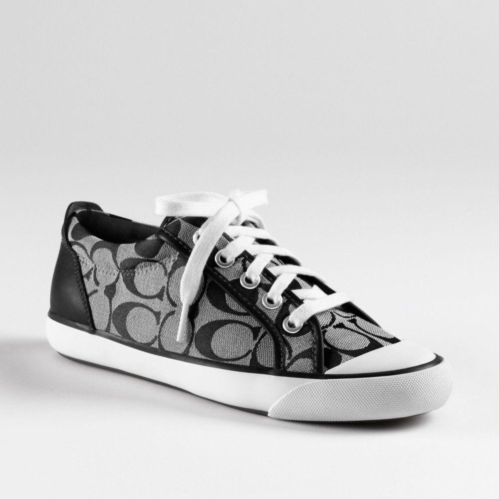 COACH Barrett Sneaker in Black - Lyst
