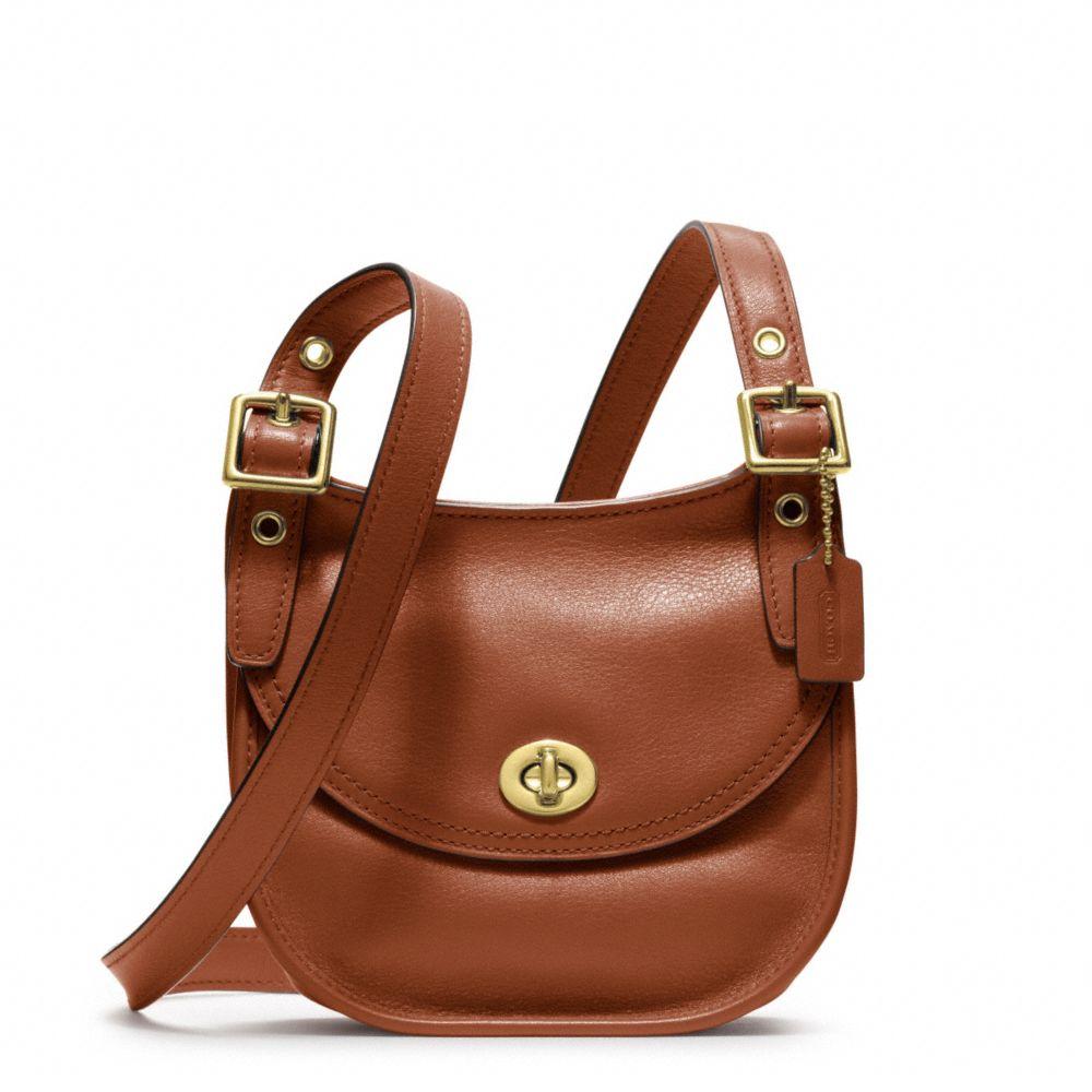 Legacy Leather Mini Saddle Bag