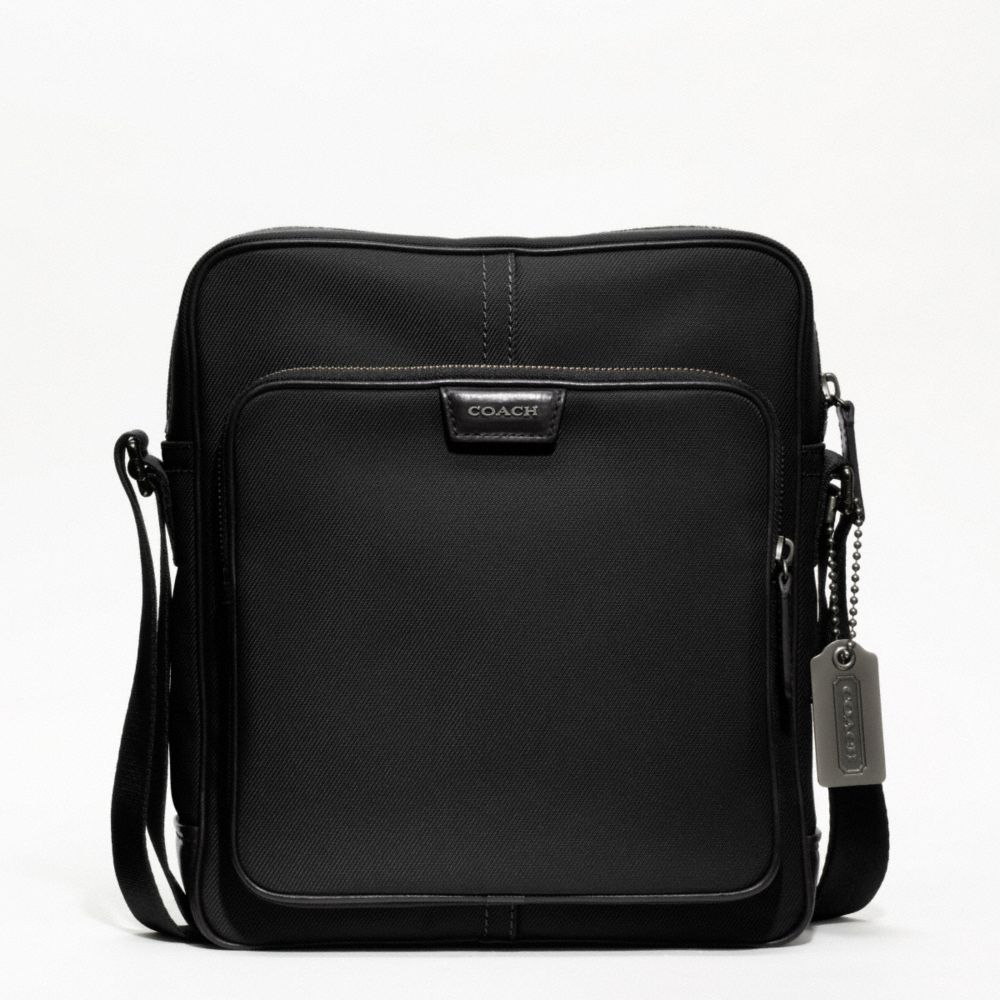 Lyst Coach Crosby Nylon Large Flight Bag In Black For Men Gallery