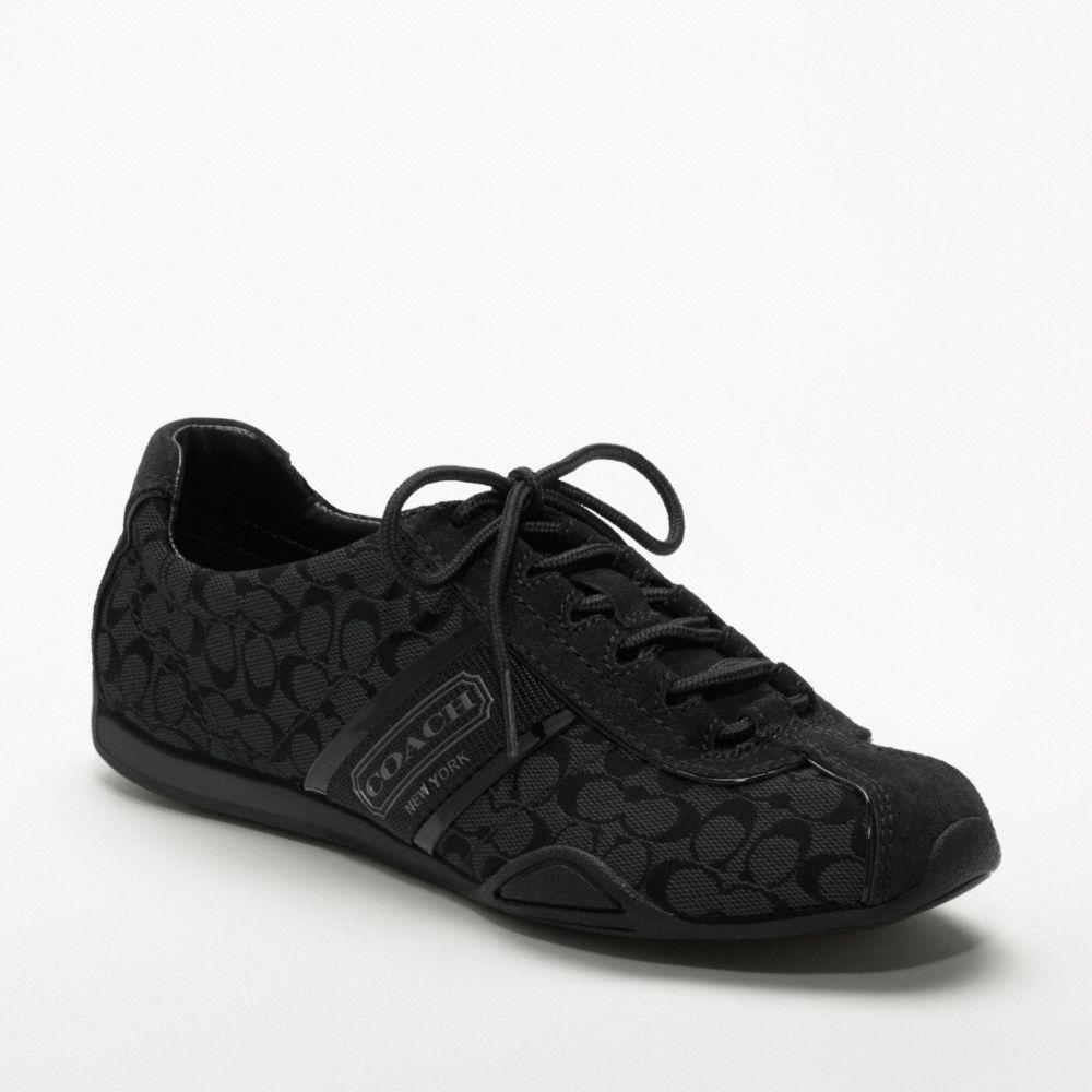 Coach Rosalita Sneaker In Black Lyst