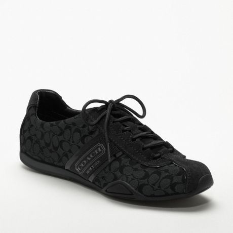 Coach Rosalita Sneaker in Black (graphite/black)