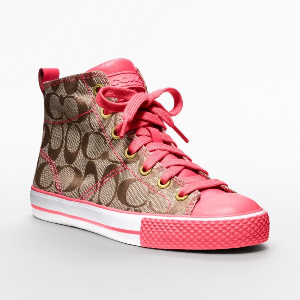 Coach Franca Sneakers In Pink Lyst