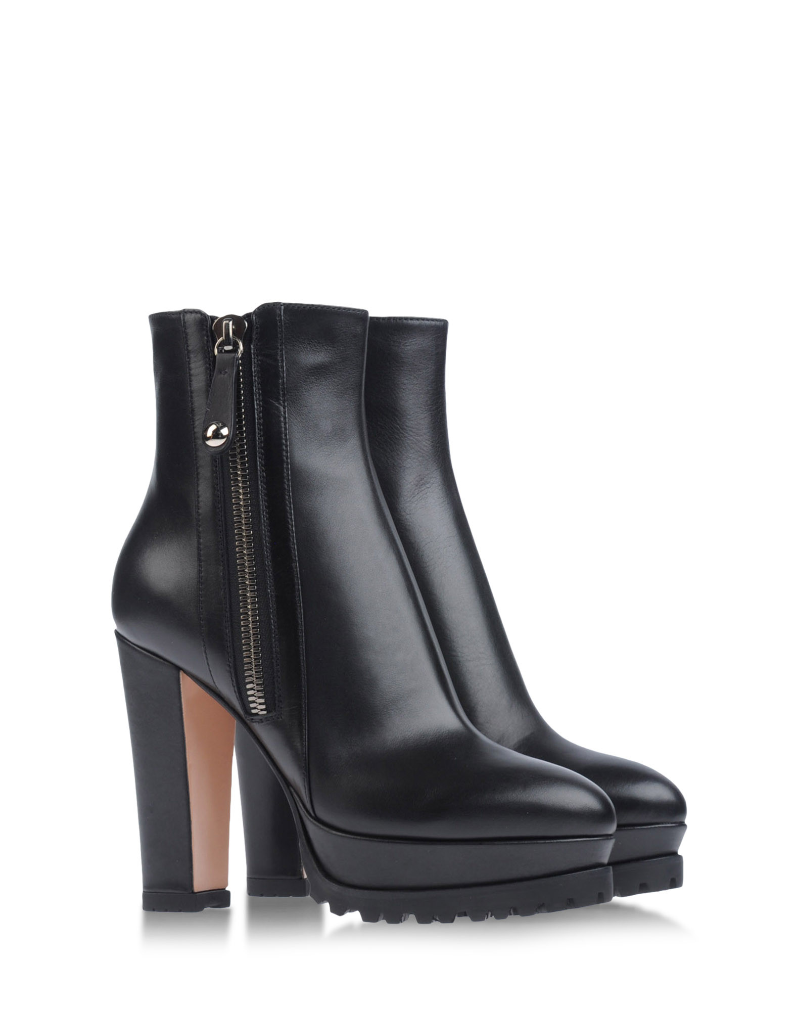 gianvito rossi ankle boots in black lyst. Black Bedroom Furniture Sets. Home Design Ideas