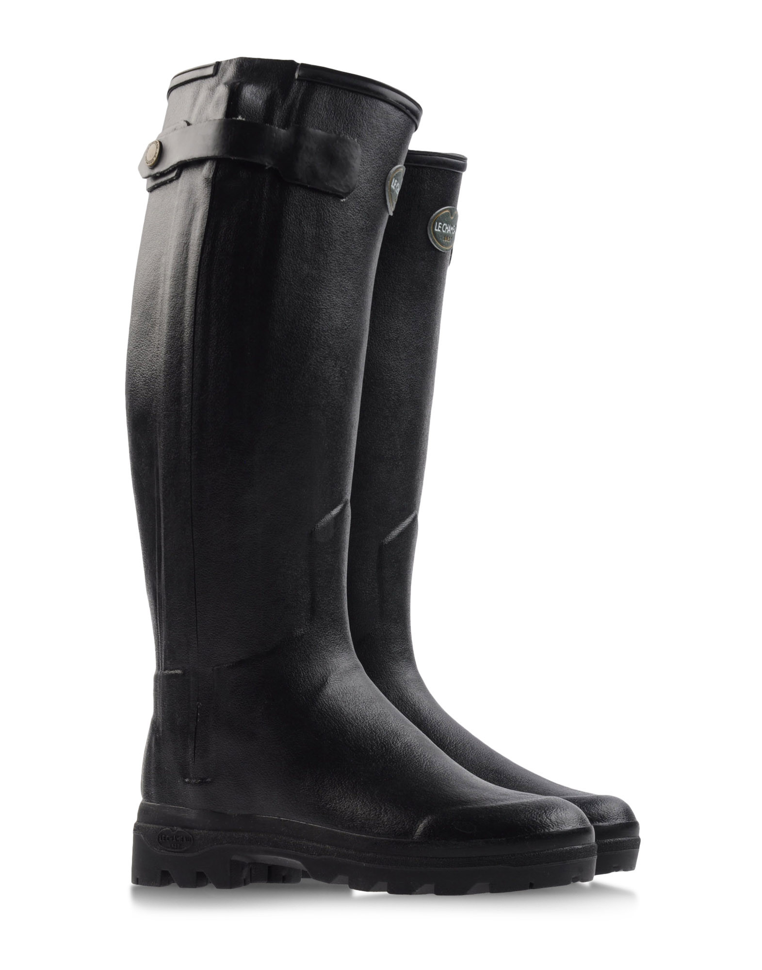 Le Chameau Rainboots Wellies In Black Lyst