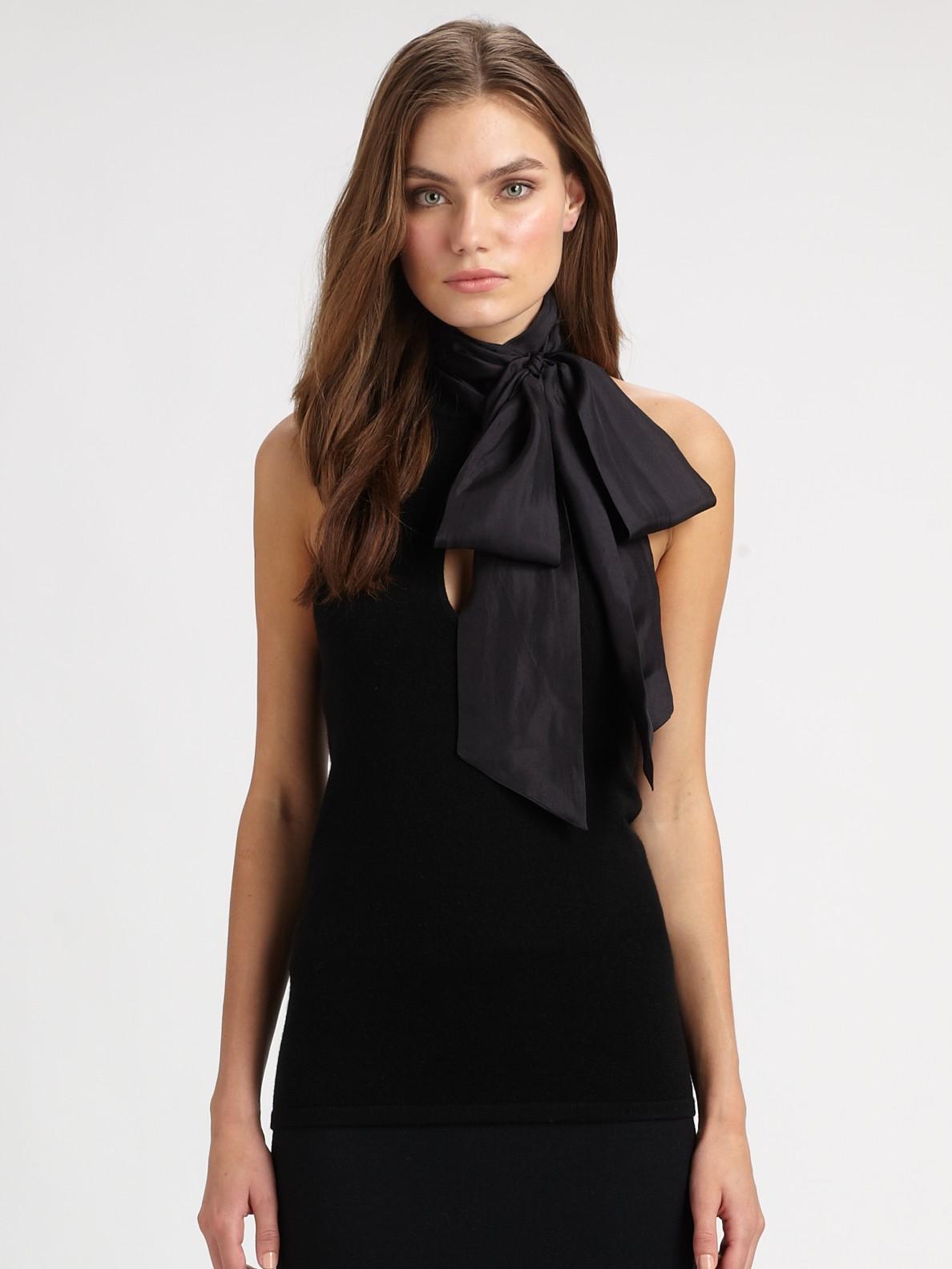 Ralph Lauren Black Label Oversized Cashmere Cable Knit