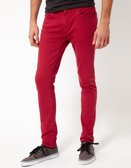 Show off your sexy silhouette in skinny jeans from trueiupnbp.gq! Choose from several styles and colors, from white to vibrant colored skinny jeans.