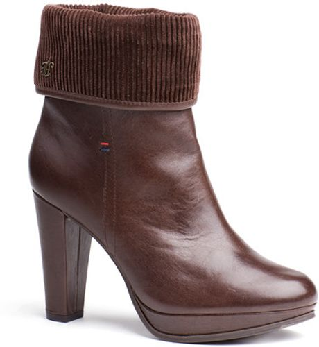 tommy hilfiger megan ankle boots in brown for men coffee bean lyst. Black Bedroom Furniture Sets. Home Design Ideas
