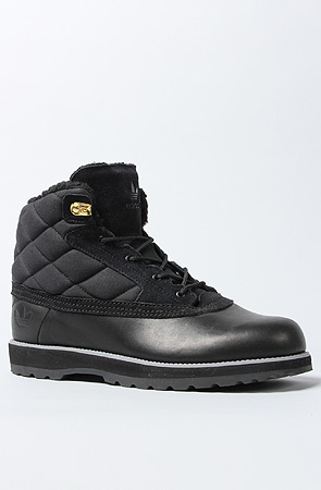 7ccc1e41080a Lyst - adidas The Adi Navvy Quilt Boot in Black Tech Grey in Black ...