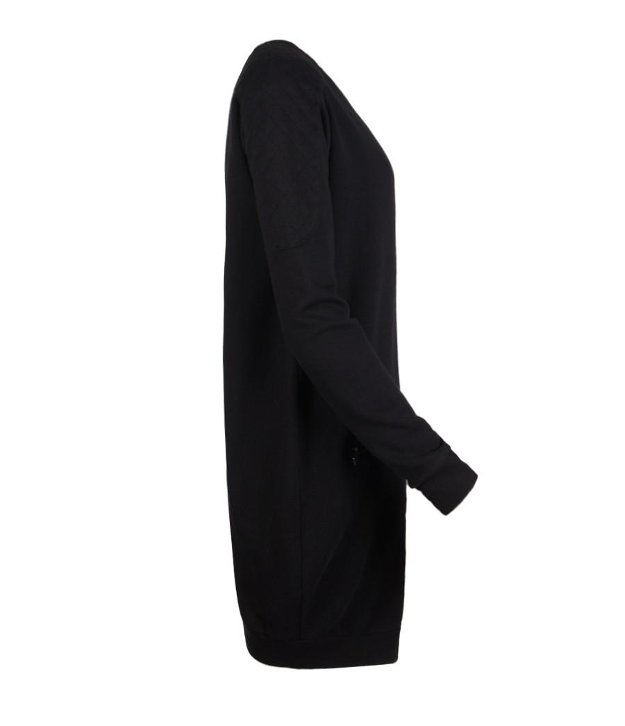 Allsaints Ridley Sweater Dress In Black Lyst