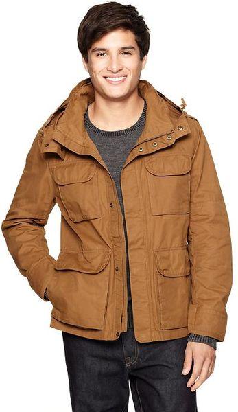 Gap Fourpocket Quilt Lining Jacket in Brown for Men (palomino brown) - Lyst