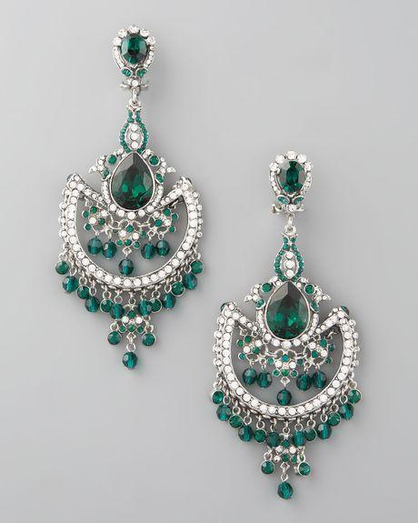 jose amp maria barrera green white crystal chandelier