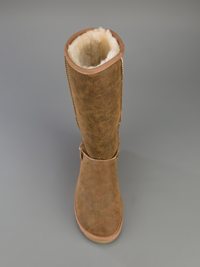UGG Classic Tall Bomber Sheepskin Boot in Tan (Brown)