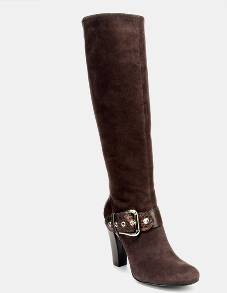Bcbgeneration Deans Tall Boot in Brown (oak/ bronze)