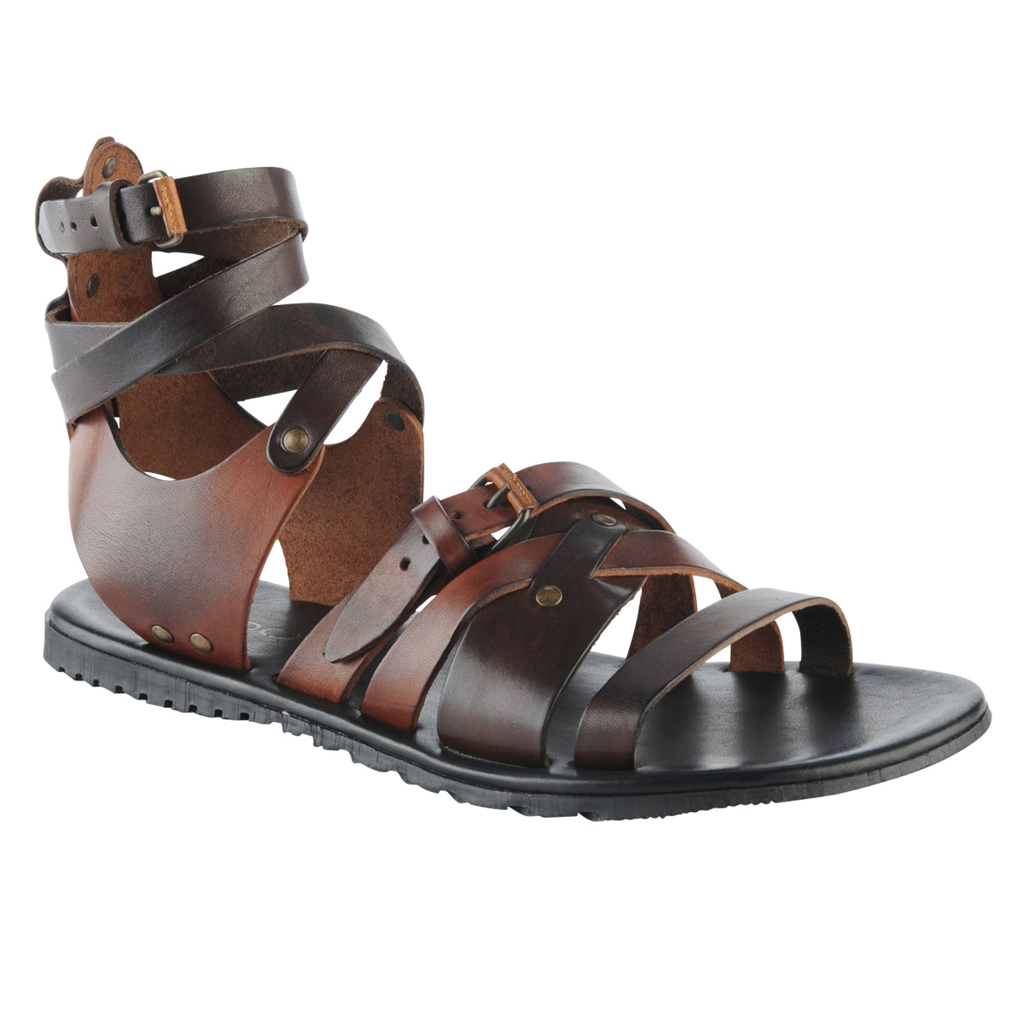 97db5b3f4 Men s Brown Howery. See more Brown Leather sandals.