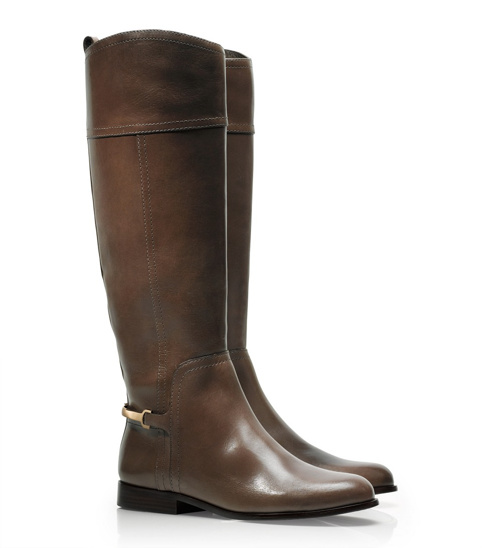 Tory Burch Jess Riding Boot In Brown Lyst