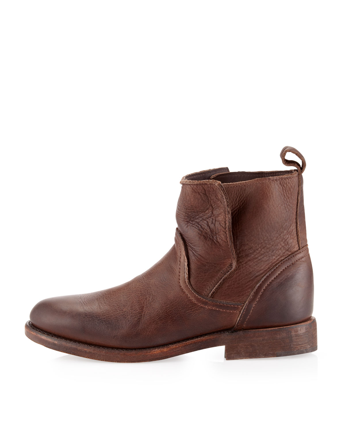 vintage shoe company sulphur boots chocolate in brown for