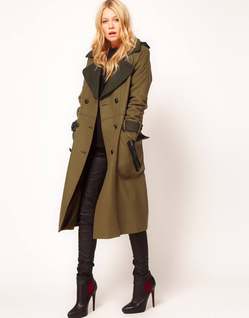 Asos womens coats