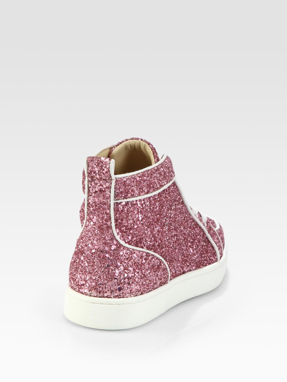 Lyst Christian Louboutin Rantus Orlato Glitter Sneakers