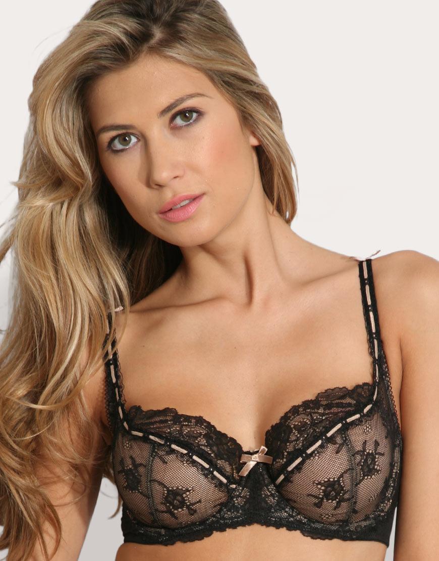 b671577948 Lyst - Elle Macpherson Intimates Dg Artistry Lace Underwired Bra in ...