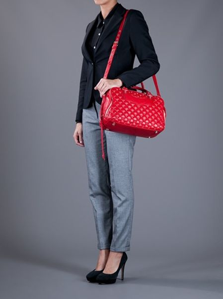 Rebecca Minkoff Jealous Quilted Tote In Red Lyst