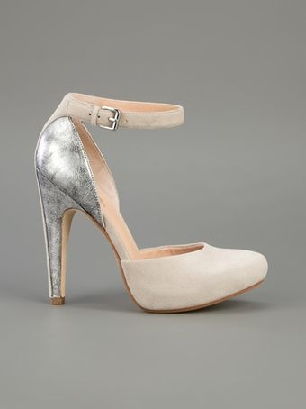 Belle By Sigerson Morrison Two Tone Shoe - Lyst