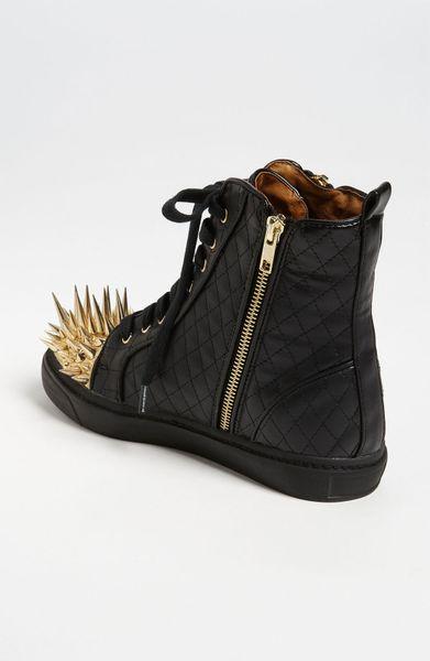 Jeffrey Campbell Adams Spike Sneaker In Black Black