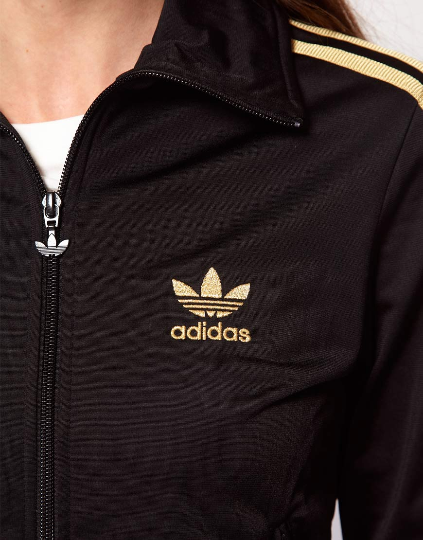 Adidas Black Firebird Track Top