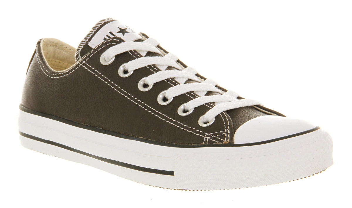 aa21633195d8e7 ... coupon for lyst converse all star leather ox low brown in brown for men  a8722 72e6d