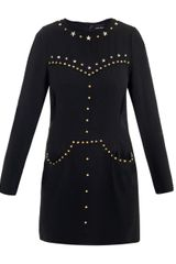 Isabel Marant Kristia Star Studded Dress