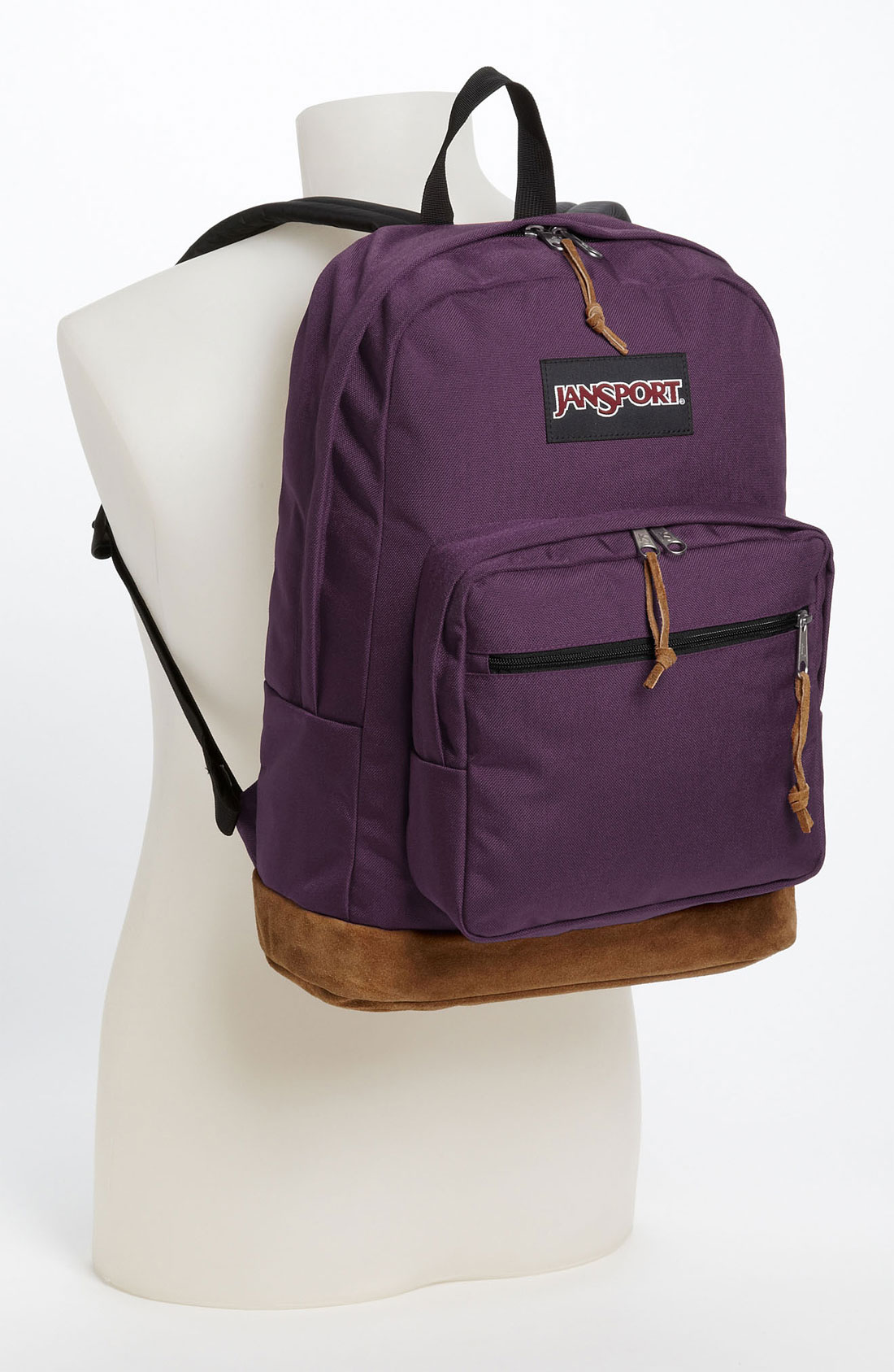 Dark Purple Jansport Backpack | Crazy Backpacks