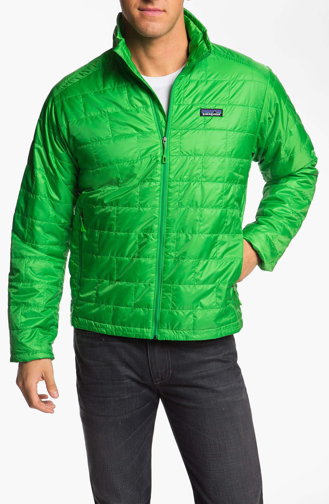 Patagonia Nano Puff Jacket In Green For Men Cilantro