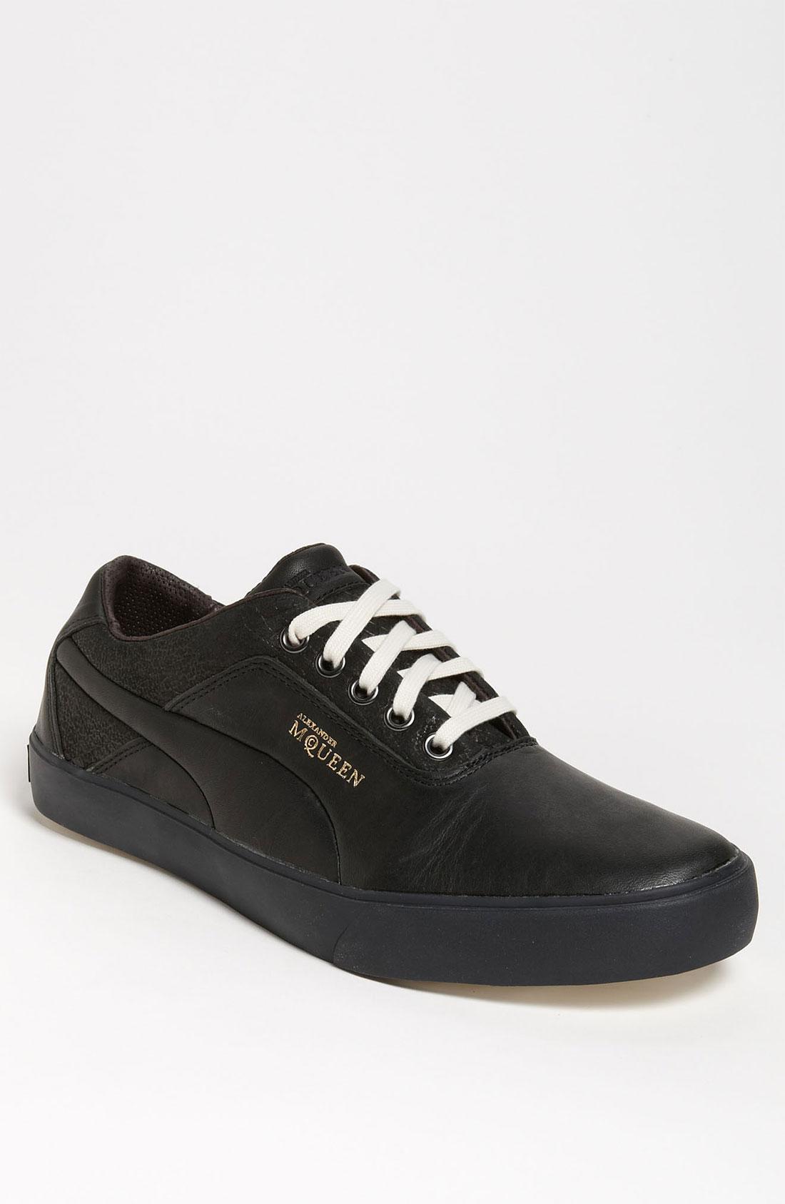 Alexander Mcqueen X Puma Deck Lo Sneaker in Black for Men ...