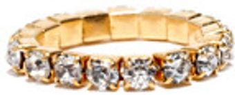 Cara Accessories Cara Accessories Rhinestone Stretch Ring - Lyst
