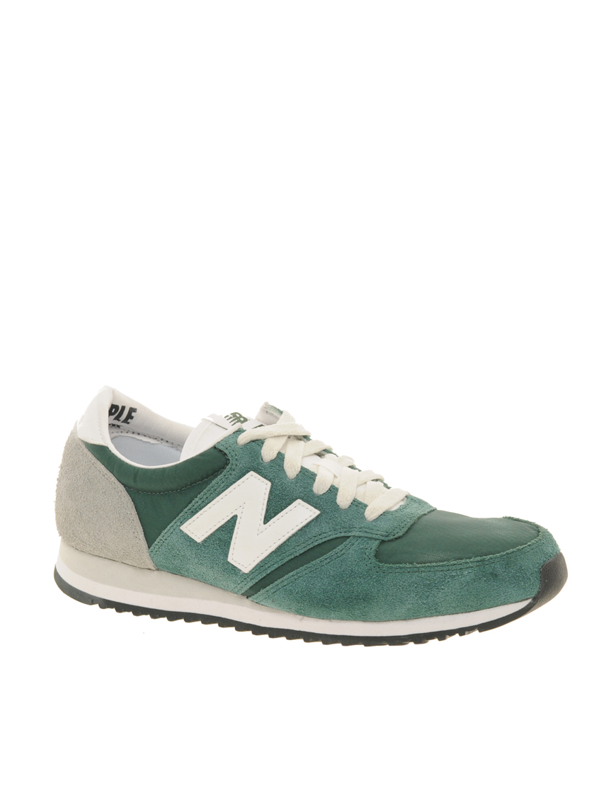New Balance Suede 420 Green Vintage Trainers - Lyst