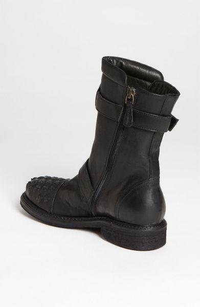 latitude femme biker boot in black lyst. Black Bedroom Furniture Sets. Home Design Ideas