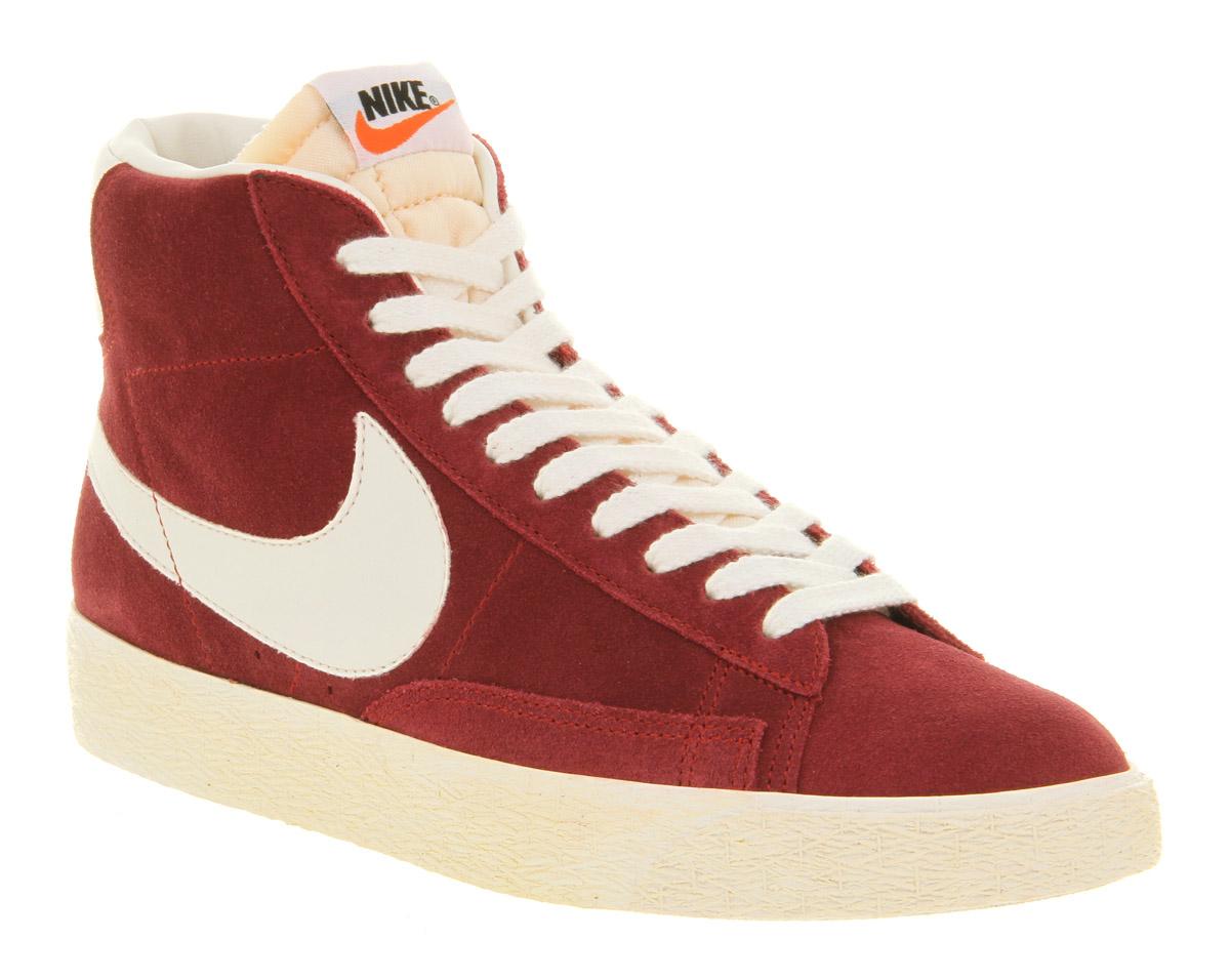 top fashion cheapest new high Blazer Hi Suede Vintage Team Red