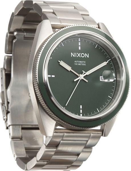 Nixon The Rover in Gray for Men (steel) - Lyst